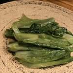 Paradaisudainashithi - 麦レタスのあっさり炒め。