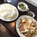 122996472 - 「野菜炒め定食」