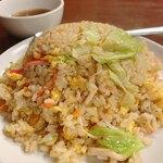 台湾料理 六順園 - 料理写真:カニとレタスチャーハン
