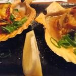 二十一亭 - 長太郎貝のバター炒め