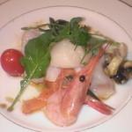 1230465 - ディナーの魚料理