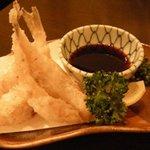 刺身居酒屋 海鮮丸 - 「ふぐの天ぷら」