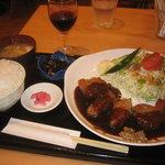 金閣寺 いただき - 夕食のセット