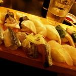 江戸前寿司 ちかなり - お好み握り寿司いろいろ~・・・私の好みものばかり!