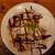 バーガーマニア - 料理写真:バナナチョコレートパンケーキ