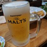 123004208 - 生ビール 中  480円+税