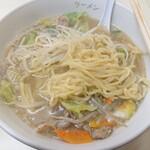 千成らーめん - ザ・千成780円の麺