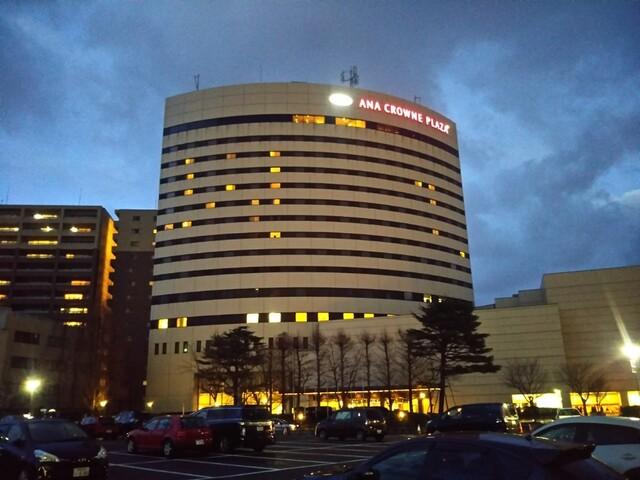 プラザ ホテル クラウン 新潟 ana