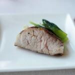広東料理 センス - 豚ネックの黒胡椒焼き