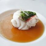 センス - 東星ハタの葱生姜蒸し フィッシュソイソース