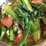 ネパール・キッチン - この、お野菜の炒め物も〜 うまい!