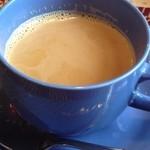 ネパール・キッチン - ネパールティは、飲みやすいミルクティですよん♪