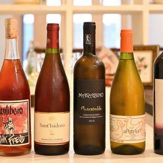 料理とワインのペアリングコースでワインもシェフにおまかせ◎