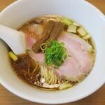 torisobaniboshisobahanayama - ・「鶏そば(¥780)」