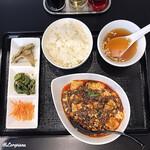 中国料理 庄屋 - 四川麻婆豆腐定食