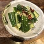 魚と日本酒 魚バカ一代 - 特性きゅうり