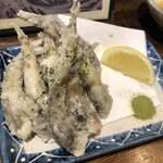 魚と日本酒 魚バカ一代 - メヒカリ唐揚げ