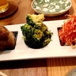 酒呑蕎食〆タグル - 三種盛り