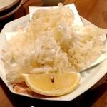 酒呑蕎食〆タグル - しらすの天ぷら