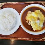 木多郎 - チキン玉子カレー