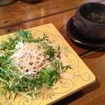 12302903 - 水菜たっぷりのサラダ