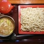蔵乃麺 - 名物 皮脂鶏セイロ ¥860