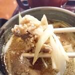 蔵乃麺 - 名物 皮脂鶏セイロ(肉リフト)