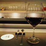 パフェ、珈琲、酒、佐々木 - 堪能コース(赤ワイン)