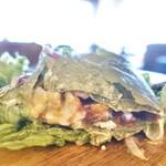 コマザワ パーク カフェ - トルティーヤモーニングプレート1,100円