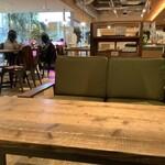 みのりカフェ - 座った席から