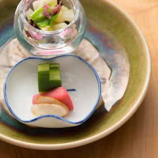 彩り・食感・旨味…。食材そのものが持つ魅力を引き出す日本料理
