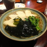 志蕎庵 江月 - 冷たい若竹蕎麦