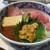 つきじ かんの - 料理写真:『かんの三種盛丼(中とろ、うに、いくら)』 1800円