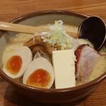 札幌ラーメン めんくら - 料理写真:味噌バターミルク 味玉トッピング