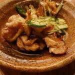 陽ノ鳥 - 鶏かわポン酢
