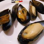 白雪ブルワリーレストラン長寿蔵 - ムール貝のワイン蒸し