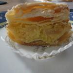 オーボンヴュータン - 2012年3月:コンベルサシオン・ポワール…アーモンドのうま味が素晴らしいです
