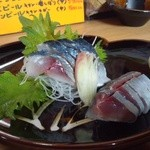 東邦酒場 - 2012.3 〆サバ(800円)