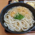 宝製麺所 - かけうどん(大) 400円