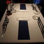 カンブーザ - テーブルセッティング