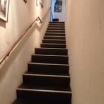 カンブーザ - 2階への階段