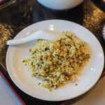 """翡翠 - """"芥菜炒飯(たかなやきめし)"""""""