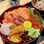 寿し若 - 料理写真:北海丼