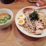 鶏ポタラーメンTHANK - つけ麺+味玉