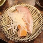 すし道場 - あいのり寿司 305円 サーモン、ぶり