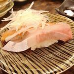 すし道場 - あいのり寿司 サーモン、ぶり