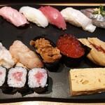佐渡のすし 弁慶 - 料理写真:弁慶特選にぎり