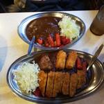 カレーの市民 アルバ - 料理写真:レディースと小盛