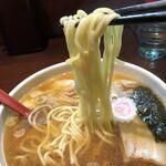 中華蕎麦 金魚 - 麺リフト