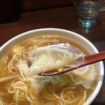 中華蕎麦 金魚 - ワンタンリフト